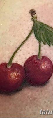 фото тату вишенки от 21.04.2018 №158 – cherry tattoos – tatufoto.com