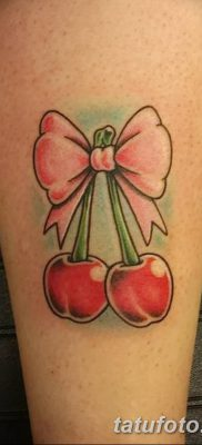 фото тату вишенки от 21.04.2018 №162 – cherry tattoos – tatufoto.com