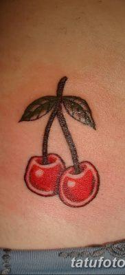 фото тату вишенки от 21.04.2018 №167 – cherry tattoos – tatufoto.com