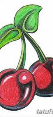 фото тату вишенки от 21.04.2018 №182 – cherry tattoos – tatufoto.com