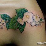 фото тату жасмин от 22.04.2018 №010 - tattoo jasmine - tatufoto.com