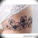 фото тату жасмин от 22.04.2018 №023 - tattoo jasmine - tatufoto.com