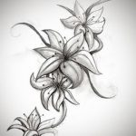 фото тату жасмин от 22.04.2018 №027 - tattoo jasmine - tatufoto.com