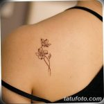 фото тату жасмин от 22.04.2018 №046 - tattoo jasmine - tatufoto.com
