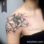 фото тату жасмин от 22.04.2018 №047 - tattoo jasmine - tatufoto.com