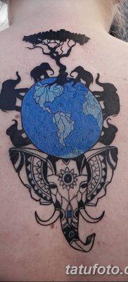 фото тату земной шар от 16.04.2018 №008 – tattoo globe – tatufoto.com