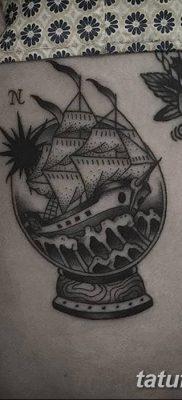 фото тату земной шар от 16.04.2018 №019 – tattoo globe – tatufoto.com