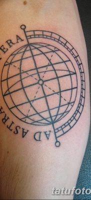 фото тату земной шар от 16.04.2018 №028 – tattoo globe – tatufoto.com