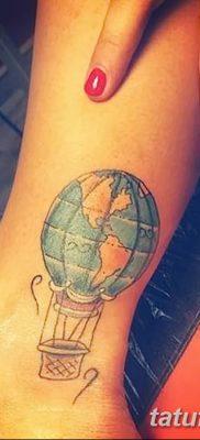 фото тату земной шар от 16.04.2018 №034 – tattoo globe – tatufoto.com