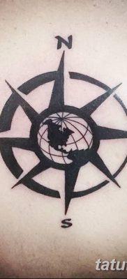 фото тату земной шар от 16.04.2018 №143 – tattoo globe – tatufoto.com