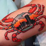 фото тату краб от 18.04.2018 №001 - tattoo crab - tatufoto.com