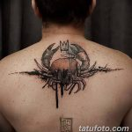 фото тату краб от 18.04.2018 №090 - tattoo crab - tatufoto.com