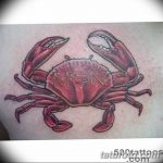фото тату краб от 18.04.2018 №114 - tattoo crab - tatufoto.com