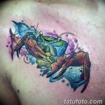 фото тату краб от 18.04.2018 №146 - tattoo crab - tatufoto.com