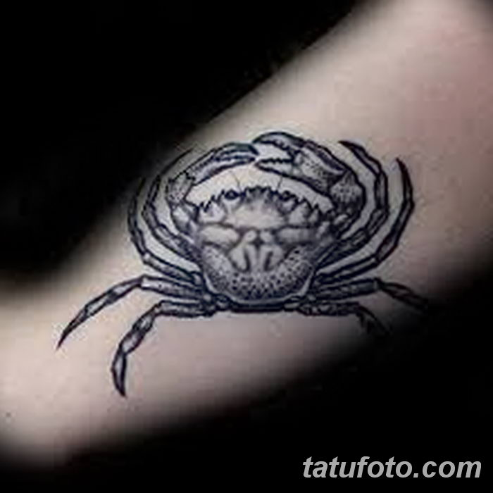 фото тату краб от 18.04.2018 №152 - tattoo crab - tatufoto.com