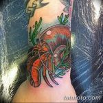 фото тату краб от 18.04.2018 №161 - tattoo crab - tatufoto.com