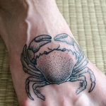 фото тату краб от 18.04.2018 №200 - tattoo crab - tatufoto.com