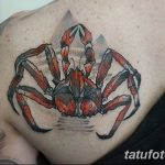 фото тату краб от 18.04.2018 №223 - tattoo crab - tatufoto.com