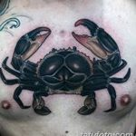 фото тату краб от 18.04.2018 №231 - tattoo crab - tatufoto.com