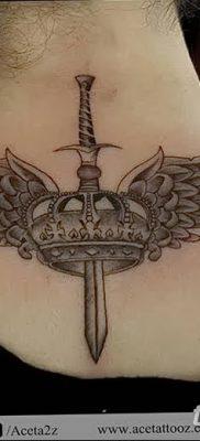 фото тату меч и крылья от 26.04.2018 №002 – tattoo sword and wings – tatufoto.com