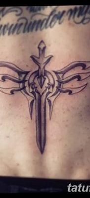 фото тату меч и крылья от 26.04.2018 №007 – tattoo sword and wings – tatufoto.com