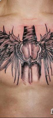 фото тату меч и крылья от 26.04.2018 №014 – tattoo sword and wings – tatufoto.com
