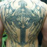 фото тату меч и крылья от 26.04.2018 №018 - tattoo sword and wings - tatufoto.com