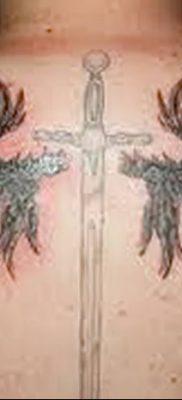 фото тату меч и крылья от 26.04.2018 №025 – tattoo sword and wings – tatufoto.com