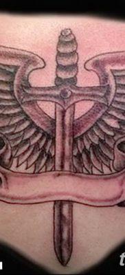 фото тату меч и крылья от 26.04.2018 №030 – tattoo sword and wings – tatufoto.com