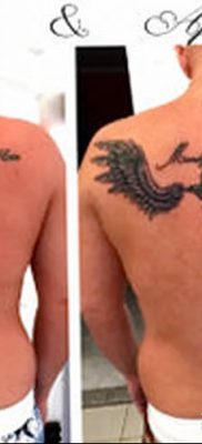 фото тату меч и крылья от 26.04.2018 №043 – tattoo sword and wings – tatufoto.com