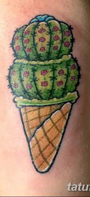 фото тату мороженое от 17.04.2018 №116 – ice cream tattoo – tatufoto.com