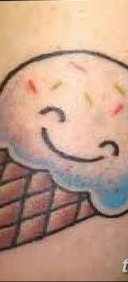 фото тату мороженое от 17.04.2018 №138 – ice cream tattoo – tatufoto.com