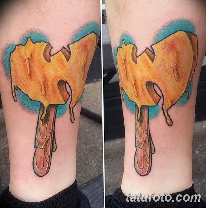 фото тату мороженое от 17.04.2018 №143 - ice cream tattoo - tatufoto.com