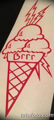 фото тату мороженое от 17.04.2018 №147 – ice cream tattoo – tatufoto.com