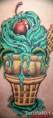 фото тату мороженое от 17.04.2018 №151 – ice cream tattoo – tatufoto.com