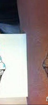 фото тату мороженое от 17.04.2018 №155 – ice cream tattoo – tatufoto.com
