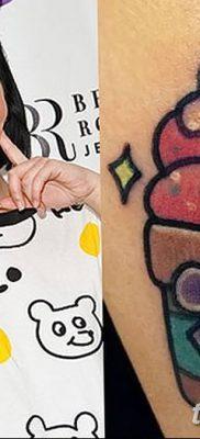 фото тату мороженое от 17.04.2018 №175 – ice cream tattoo – tatufoto.com