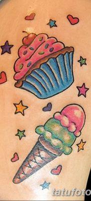 фото тату мороженое от 17.04.2018 №183 – ice cream tattoo – tatufoto.com
