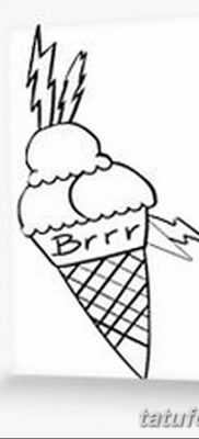 фото тату мороженое от 17.04.2018 №192 – ice cream tattoo – tatufoto.com