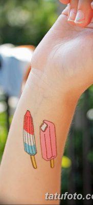 фото тату мороженое от 17.04.2018 №193 – ice cream tattoo – tatufoto.com
