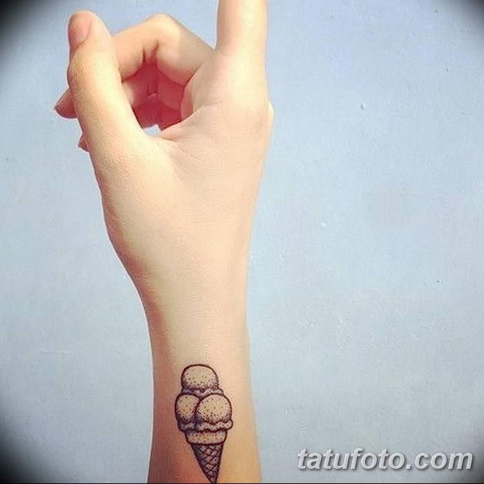 фото тату мороженое от 17.04.2018 №201 - ice cream tattoo - tatufoto.com
