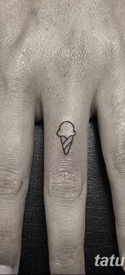 фото тату мороженое от 17.04.2018 №209 – ice cream tattoo – tatufoto.com