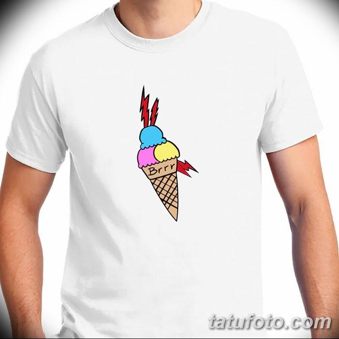 фото тату мороженое от 17.04.2018 №242 - ice cream tattoo - tatufoto.com