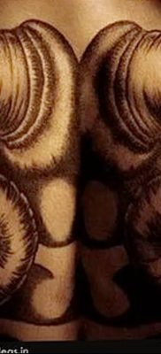 фото тату рога от 24.04.2018 №004 — tattoo horn — tatufoto.com
