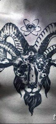 фото тату рога от 24.04.2018 №010 – tattoo horn – tatufoto.com