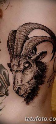 фото тату рога от 24.04.2018 №012 — tattoo horn — tatufoto.com