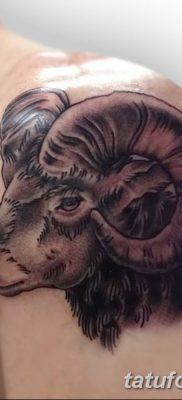 фото тату рога от 24.04.2018 №013 – tattoo horn – tatufoto.com
