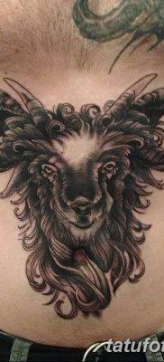 фото тату рога от 24.04.2018 №014 — tattoo horn — tatufoto.com