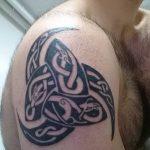 фото тату рога от 24.04.2018 №018 - tattoo horn - tatufoto.com