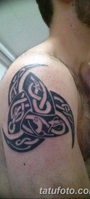 фото тату рога от 24.04.2018 №018 — tattoo horn — tatufoto.com
